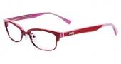 Lucky Brand Zuma Eyeglasses Eyeglasses - Red