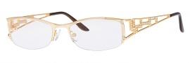 Caviar 1753 Eyeglasses  Eyeglasses - 21 Gold w/ Clear Crystal Stones