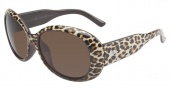 Lucky Brand Del Mar Sunglasses Sunglasses - Leopard