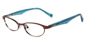 Lucky Brand Kids Peppy Eyeglasses Eyeglasses - Brown / Blue Temple