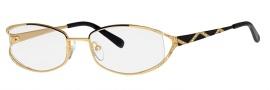 Caviar 2613 Eyeglasses Eyeglasses - 24 Black / Gold Clear Crystal Stones