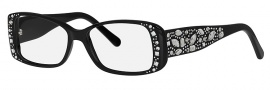 Caviar 3003 Eyeglasses Eyeglasses - 24 Black / Clear Crystal Stones