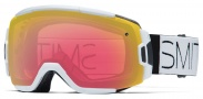 Smith Optics Vice Snow Goggles Goggles - White Block / Red Sensor Mirror