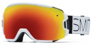 Smith Optics Vice Snow Goggles Goggles - White Block / Red Sol-X Mirror