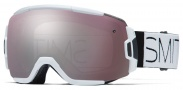 Smith Optics Vice Snow Goggles Goggles - White Block / Ignitor Mirror