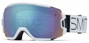 Smith Optics Vice Snow Goggles Goggles - White Block / Blue Sensor Mirror