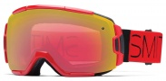 Smith Optics Vice Snow Goggles Goggles - Red Fire Block / Red Sensor Mirror