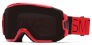 Smith Optics Vice Snow Goggles Goggles - Red Fire Block / Blackout