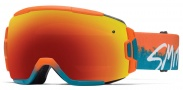 Smith Optics Vice Snow Goggles Goggles - Orange / Red Sol-X Mirror