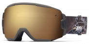 Smith Optics Vice Snow Goggles Goggles - Brown Screaming Eagle / Gold Sol-X Mirror