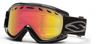 Smith Optics Sentry Snow Goggles Goggles - Black / Red Sensor Mirror Lens