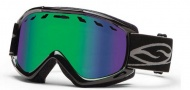Smith Optics Sentry Snow Goggles Goggles - Black / Green Sol-X Lens