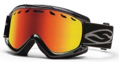 Smith Optics Sentry Snow Goggles Goggles - Black / Red Sol-X Lens