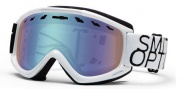 Smith Optics Sentry Snow Goggles Goggles - Black / White Data / Blue Sensor Mirror