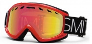 Smith Optics Sentry Snow Goggles Goggles - Fire Blockhead / Red Sensor Mirror