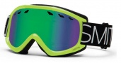 Smith Optics Sentry Snow Goggles Goggles - Acid Blockhead / Green Sol-X Lens