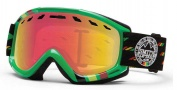 Smith Optics Sentry Snow Goggles Goggles - Irie Rockers / Red Sensor Mirror