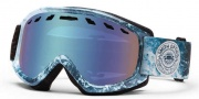 Smith Optics Sentry Snow Goggles Goggles - Steel Oceanic / Blue Sensor Mirror