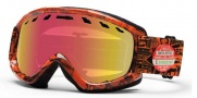 Smith Optics Sentry Snow Goggles Goggles - Orange W3 / Red Sensor Mirror Lens