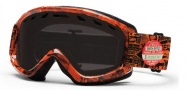 Smith Optics Sentry Snow Goggles Goggles - Orange W3 / Blackout Lens