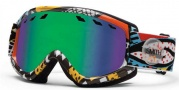 Smith Optics Sentry Snow Goggles Goggles - White Carlton / Green Sol-X Lens