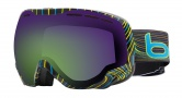 Bolle Emperor Goggles Goggles - 20933 Blue & Green Waves / Green Emerald