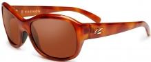 Kaenon Maya Sunglasses Sunglasses - Blonde Tortoise / Polarized C12 Lenses