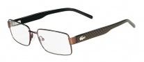 Lacoste L2138 Eyeglasses Eyeglasses - 210 Brown