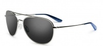 Kaenon Driver Sunglasses Sunglasses - Chrome / Polarized G12 Lenses