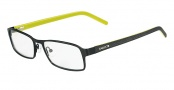 Lacoste L2136 Eyeglasses Eyeglasses - 001 Satin Black / Yellow