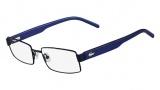 Lacoste L2165 Eyeglasses Eyeglasses - 424 Blue