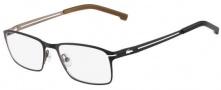 Lacoste L2167 Eyeglasses Eyeglasses - 001 Satin Black