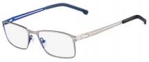 Lacoste L2167 Eyeglasses Eyeglasses - 045 Satin Silver