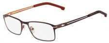 Lacoste L2167 Eyeglasses Eyeglasses - 210 Satin Brown