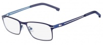 Lacoste L2167 Eyeglasses Eyeglasses - 424 Satin Blue