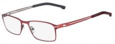 Lacoste L2167 Eyeglasses Eyeglasses - 615 Satin Red