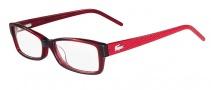 Lacoste L2603 Eyeglasses Eyeglasses - 615 Red