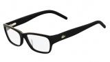 Lacoste L2643 Eyeglasses Eyeglasses - 001 Black