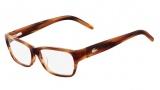 Lacoste L2643 Eyeglasses Eyeglasses - 210 Brown Horn