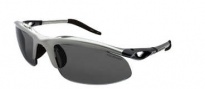 Switch Vision H-wall Sweptback Sunglasses Sunglasses - Matte Silver / Polarized Lenses
