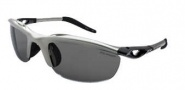 Switch Vision H-wall Wrap Sunglasses Sunglasses - Matte Silver / Polarized Lenses