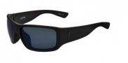 Switch Vision Lycan Sunglasses Sunglasses - Matte Black Blue / Polarized Lenses