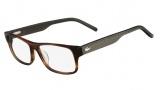 Lacoste L2660 Eyeglasses Eyeglasses - 210 Brown Horn