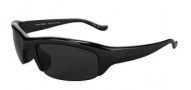 Switch Vision Stoke Sunglasses Sunglasses - Shiny Black / Polarized Lenses