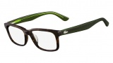 Lacoste L2672 Eyeglasses Eyeglasses - 214 Havana / Green