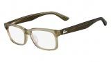 Lacoste L2672 Eyeglasses Eyeglasses - 317 Khaki