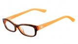 Lacoste L2673 Eyeglasses Eyeglasses - 215 Orange / Havana