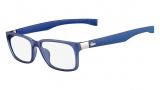 Lacoste L2675 Eyeglasses Eyeglasses - 424 Satin Blue
