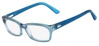 Lacoste L2687 Eyeglasses Eyeglasses - 467 Azure