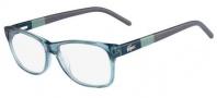 Lacoste L2691 Eyeglasses Eyeglasses - 466 Petroleum (Transparent Blue)